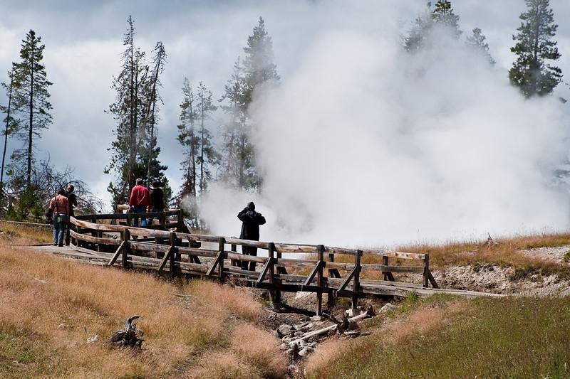 Sulfur cauldron boardwalk
