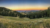 The Blacktail Plateau at sunset