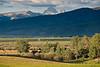 Victor, Idaho and the Teton Range