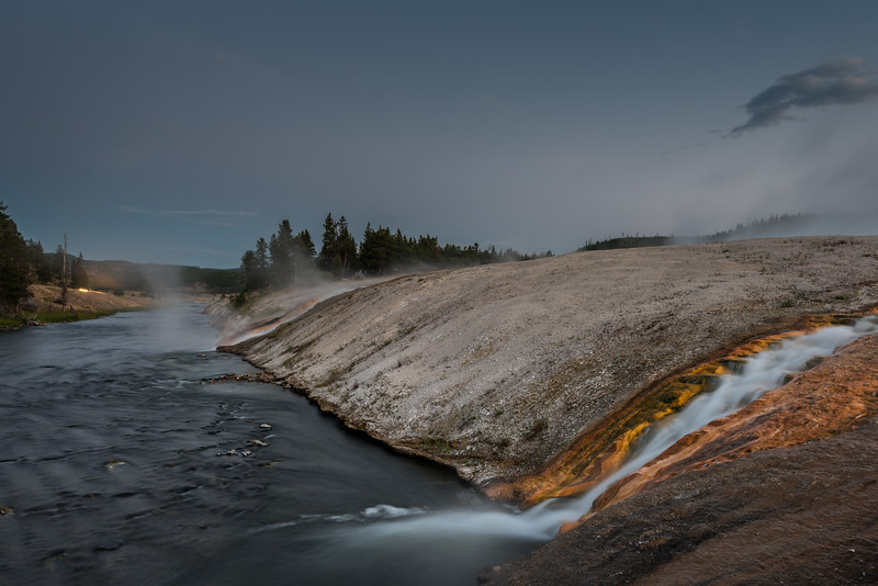 Midway Geyser Basin and the Firehole RIver