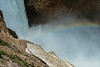 Lower Yellowstone Falls rainbow