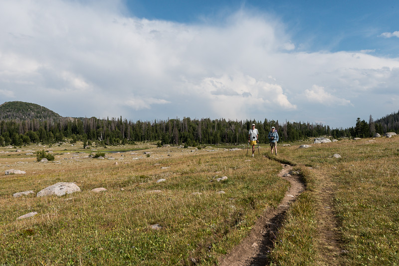 Sue and Steve, Beartooth Absaroka wilderness