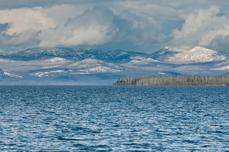 Yellowstone Lake from West Thumb