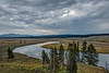 Yellowstone River in the Hayden Valley
