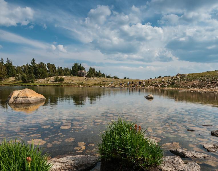 Alpine lake, Beartooth Highway
