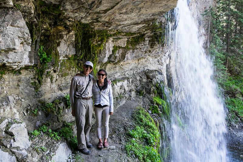 Bob and Sarah, Bridal Falls