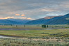 Sunrise in the Lamar Valley