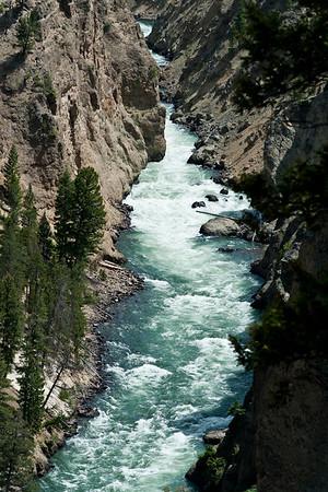 Canyon, Yellowstone River