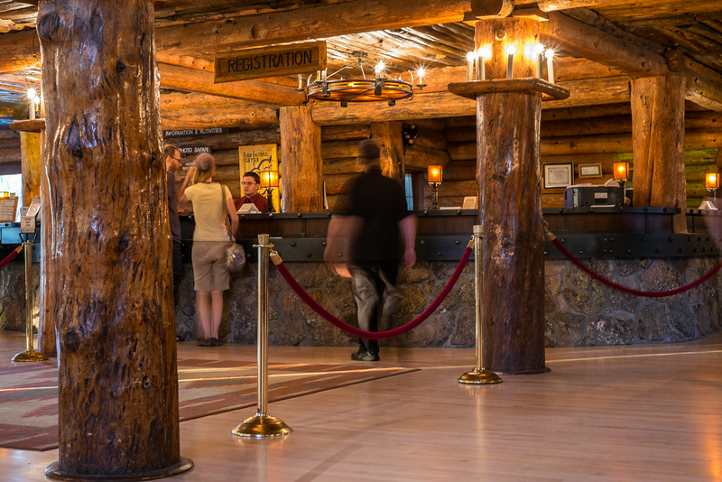 the historic Old Faithful Inn