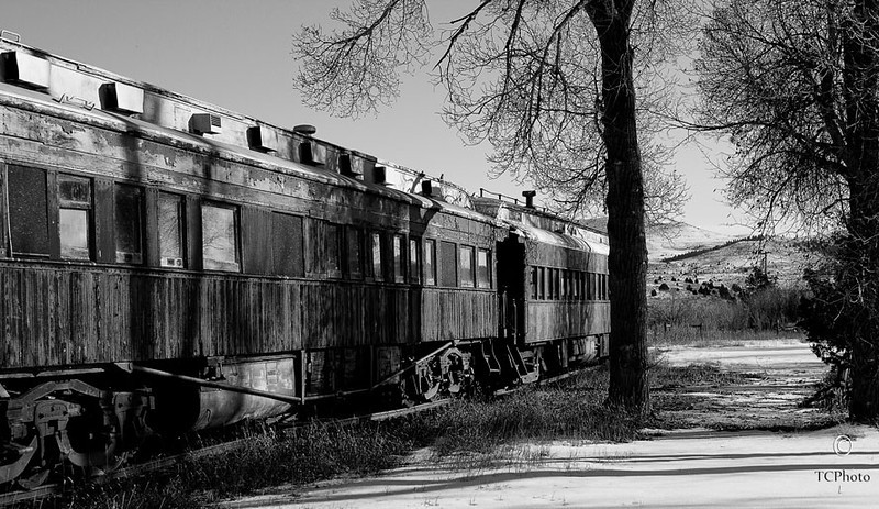 Train of the Past in Montana.
