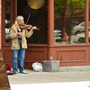A Missoula Street musician has captured an audience.
