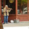A Missoula Street musician has captured an audience.