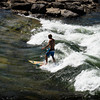 Most would not think of surfing in Montana but in Missoula it can be a popular pastime.