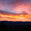 Daybreak in Montana can generate some amazing skies.  Sunrise over the Sapphire Range in Montana.