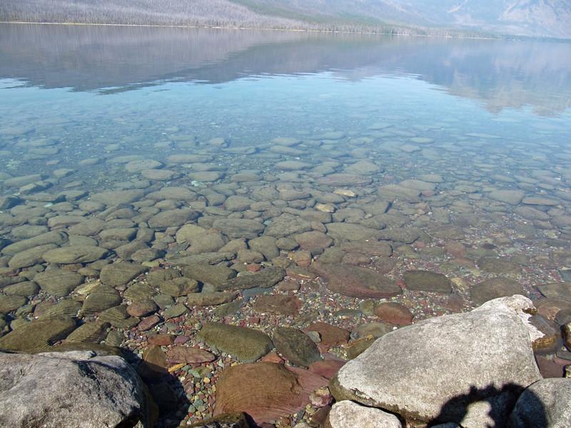 Along McDonald Lake, Glacier National Park