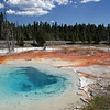 Colorful hot spring at Yellowstone NP
