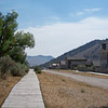 The Streets of Bannack Ghost Town.
