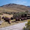 Mining equipment of yesteryear.