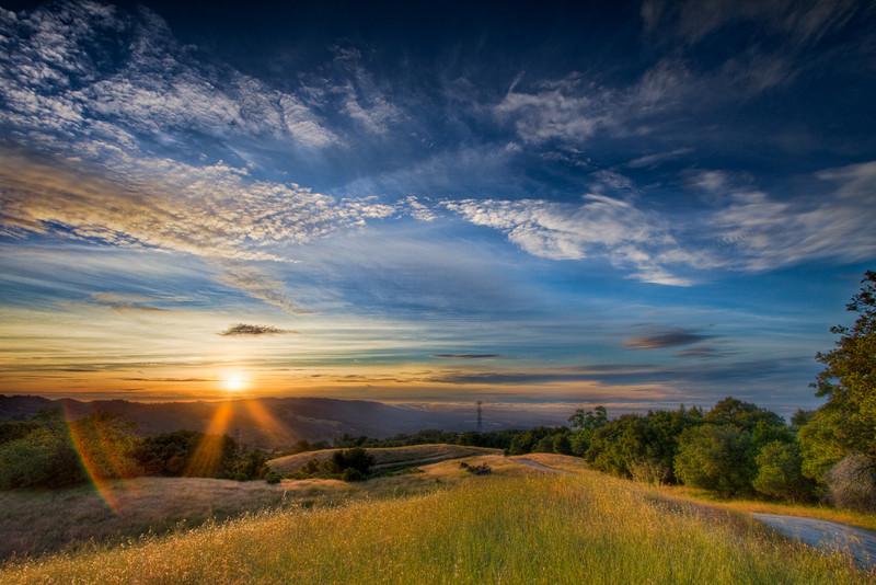 Monte Bello Sunset 2a