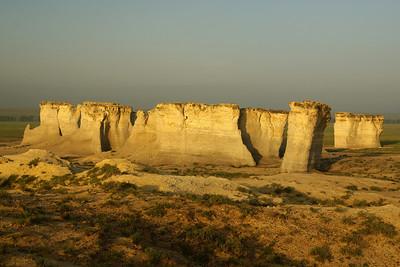 Kansas Monument Rocks
