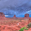 Storm Clouds Over the Buttes