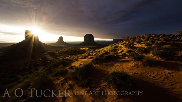 Monument Valley Moonscape