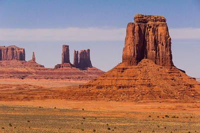 One of the scenes that made Monument Valley world famous, and a favorite of western film makers.