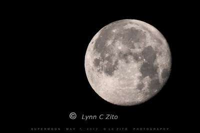 Supermoon May 7, 2012