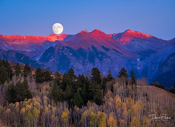 Moon Over Telluride