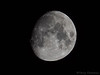 3/4 moon