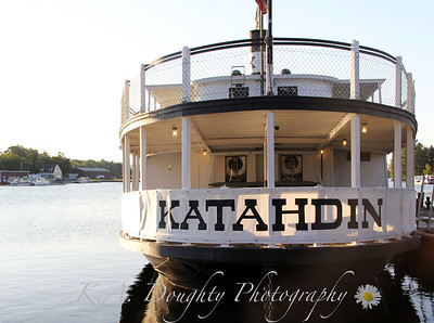 The Kate, docked in Greenville