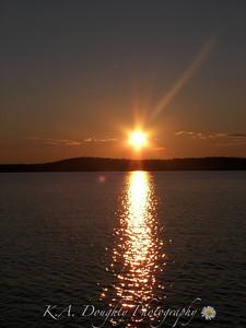 Sunset near Moose Bay