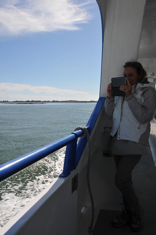 Une touriste que j'aime.