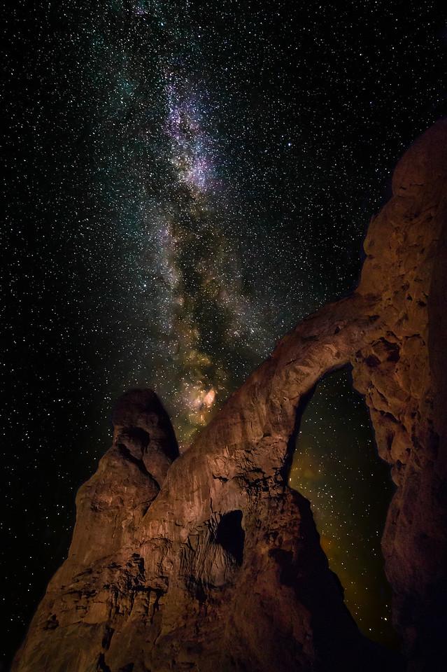 Turret and Stars