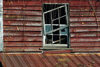 * March 16, 2011. Old abandoned house, Morgan County, WV.