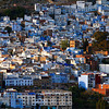 The blue city of Chefchaouen.