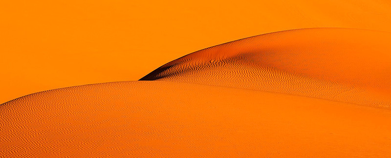 The skin of sand.