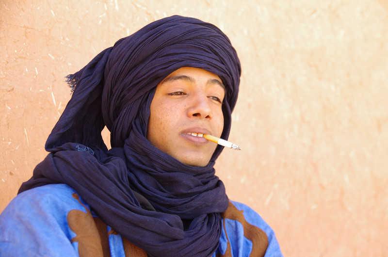 Ahmed taught me about berber-arabian rock music and how to smoke good hash.