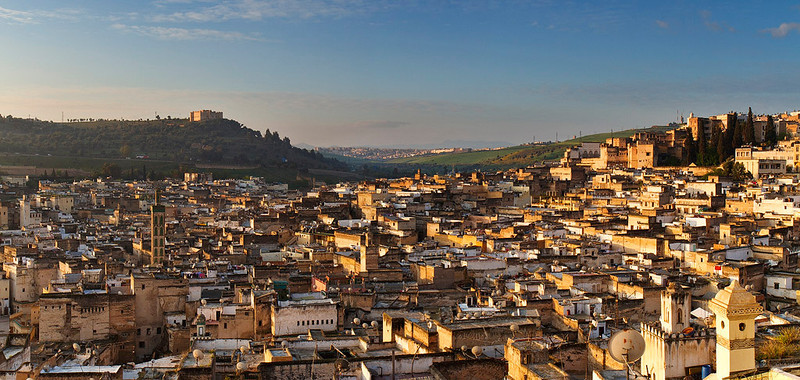 Fez is the second largest city of Morocco, founded in 789 A.D, with a population of approximately 1 million (2010).