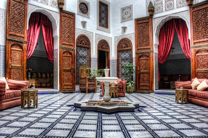 Riad in Fez