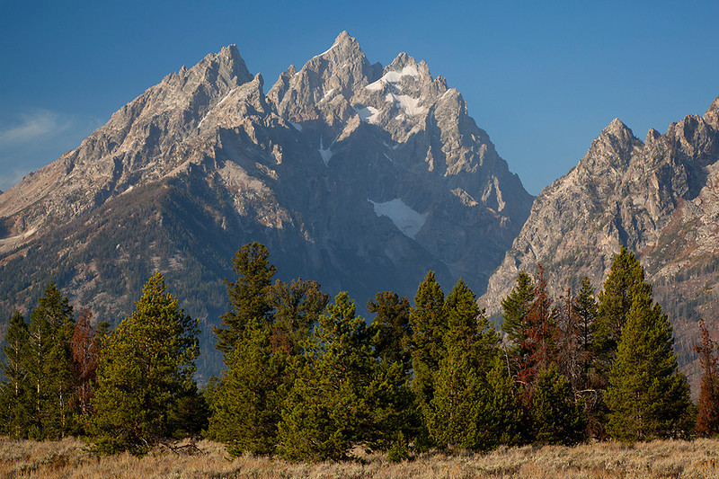 (GT-09132) Cathedral Group - Grand Teton National Park, Wyoming.