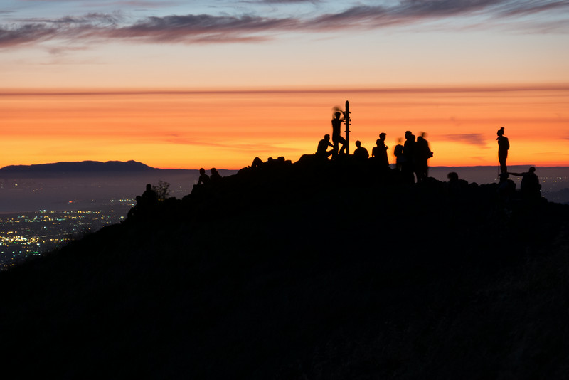 Mission Peak Silhouettes
