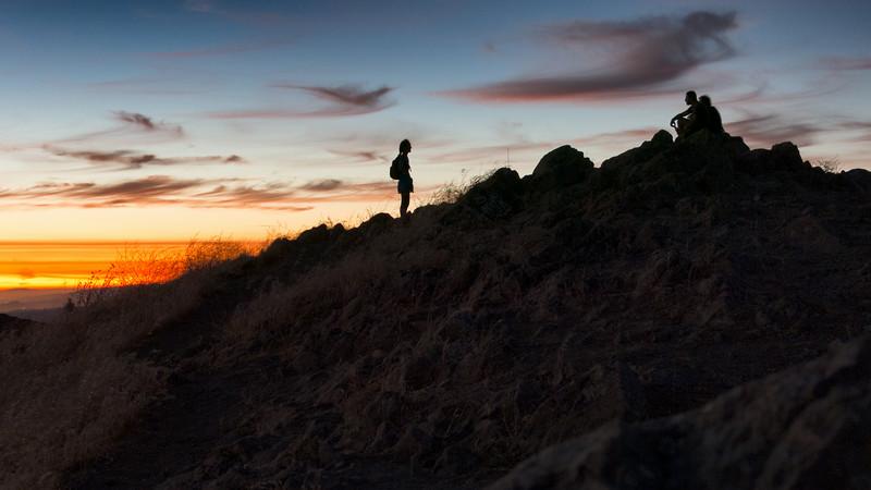Mission Peak Silhouettes