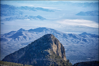 Mummy Mountain, Mt. Charleston Wilderness Area, Nevada.
