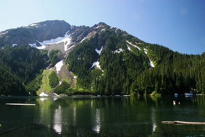 Pierce Lake ...it's at about 3,500ft elevation