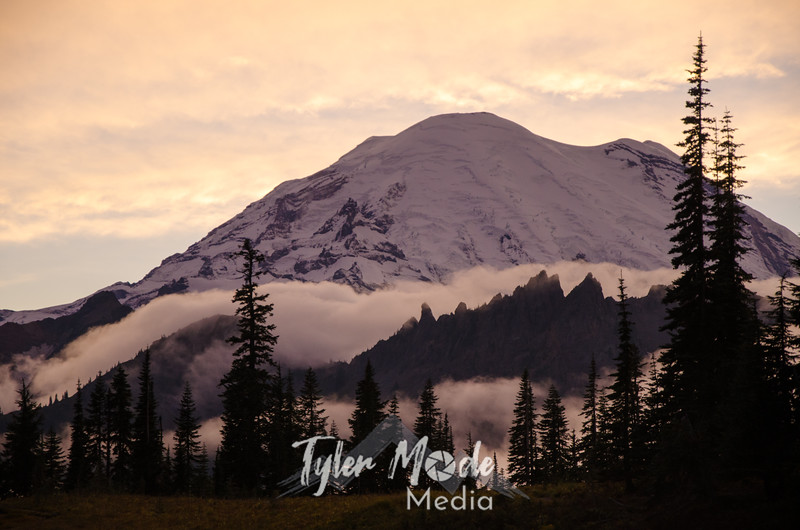 681  G Rainier and Clouds