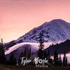 735  G Rainier Sunset Close Sharp