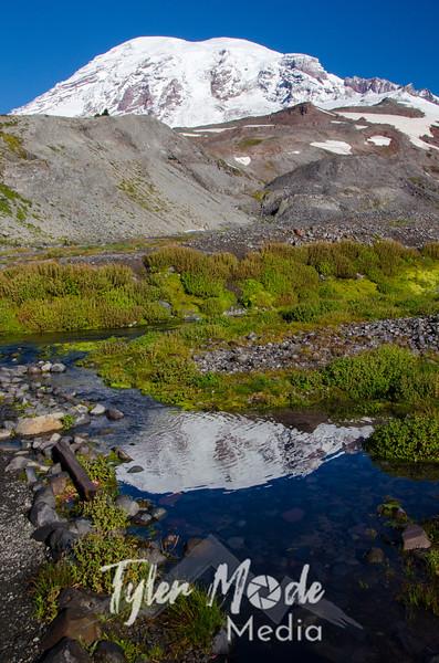 414  G Rainier Reflection Tarn V