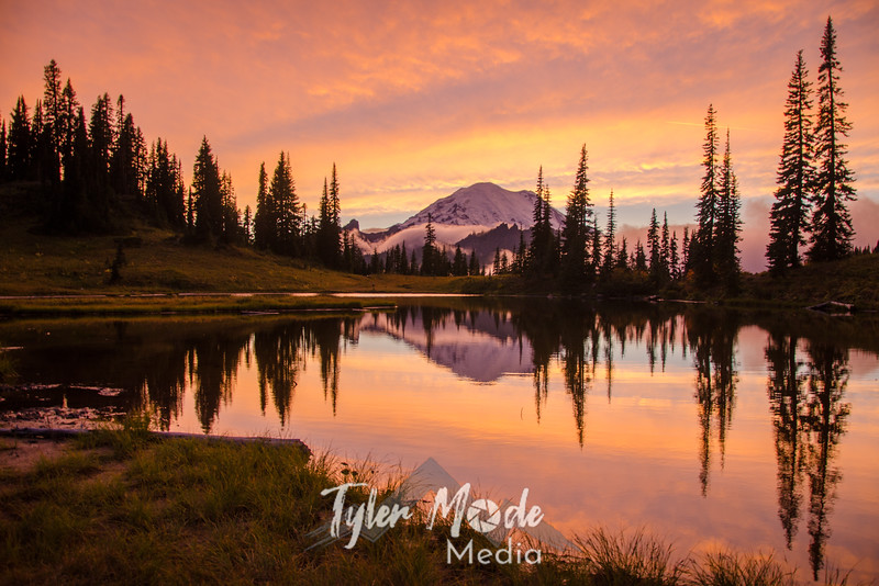 701  Rainier and Tipsoo Lake Sunset