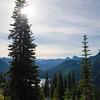 866  G Dewey Lakes and Fall Colors Tree V
